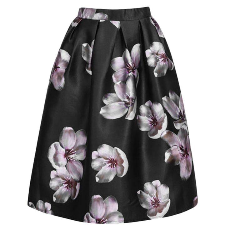 Peach Skater Skirt