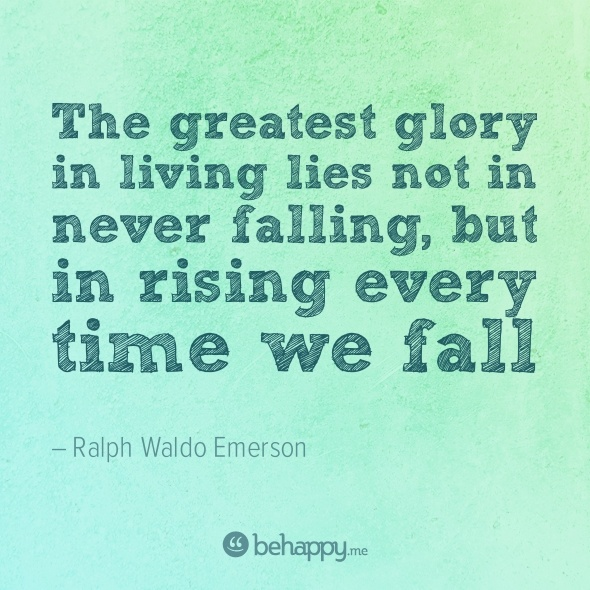 rising every time we fall