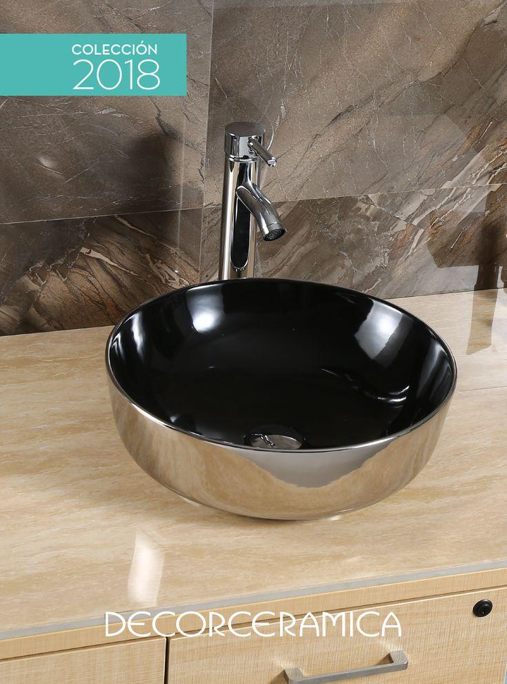 No esperes hasta Navidad para regalarle a tus baños un lavamanos SÚPER TRENDY, con un diseño arriesgado que rescata el color plata y lo fusiona con el negro… Actualiza tu ambiente con lo último de la INNOVACIÓN.   #Lavamanos #baños #decorceramica
