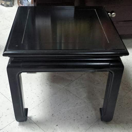 Vintage Chinoiserie Asian Style Black Laquer End By FrugalFortune ·  Hollywood RegencyVintage HollywoodBlack FurnitureBoardwalk ...