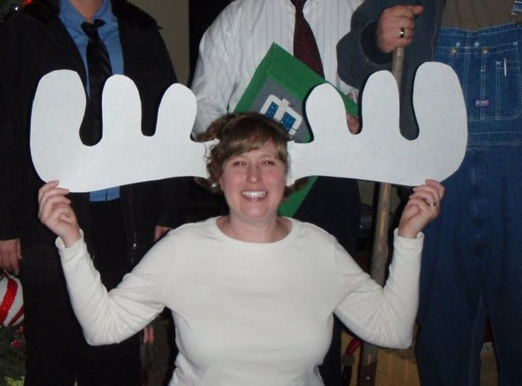 Moose mug costume! Great idea for Griswold Christmas Vacation costume party!