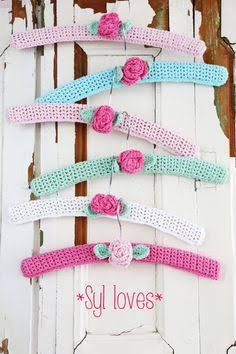 Image result for knitted coat hanger cover patterns