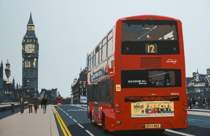 View The No.12 bus by Kris Mercer. Browse more art for sale at great prices. New art added daily. Buy original art direct from international artists. Shop now