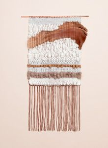Natural Element 2 weaving by Brook & Lyn