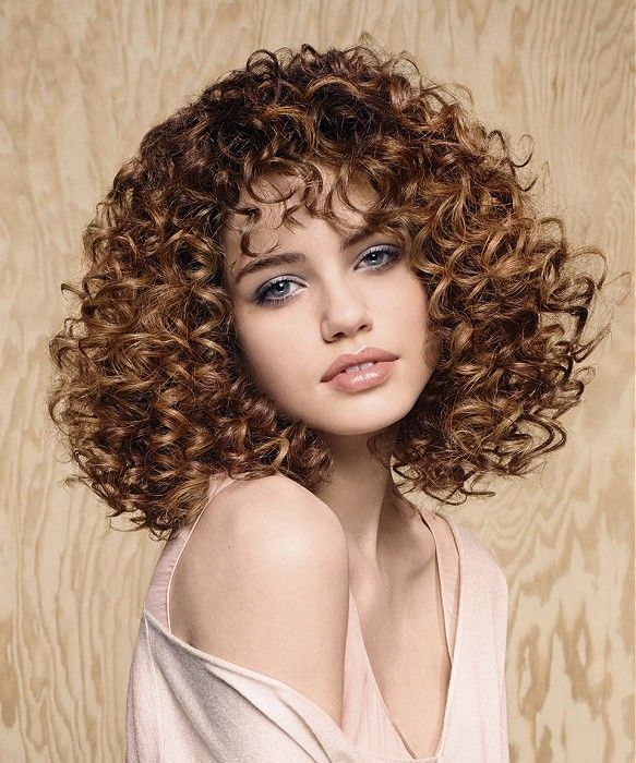 How adorable? to die for brown curls...want this style so bad!