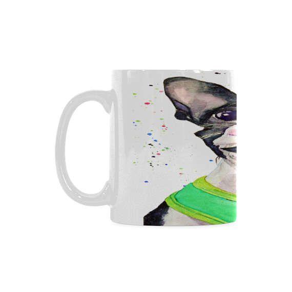 Father's day ceramic mug desk accessories for men.