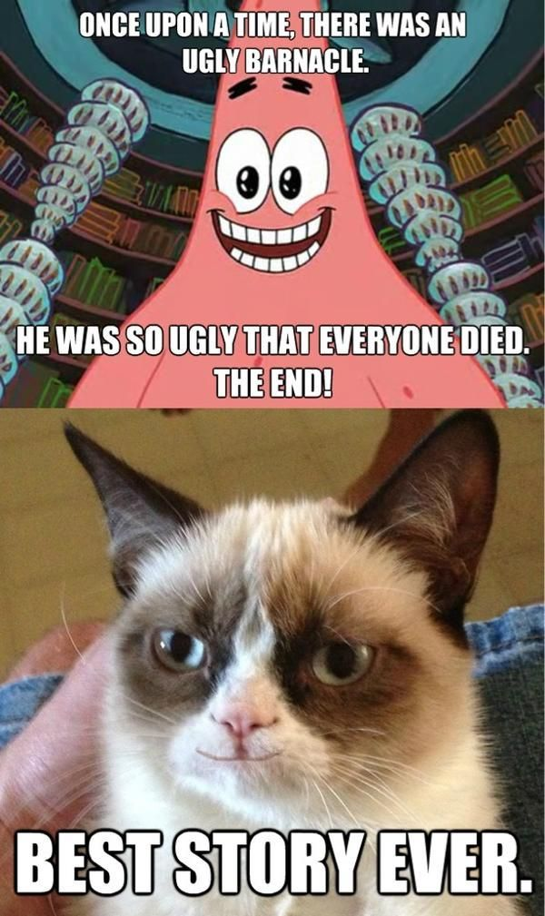 Of coarse Grumpy Cat likes that story
