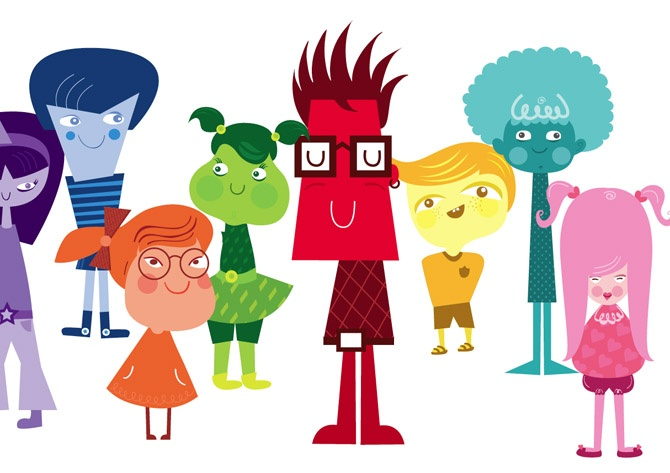 Characters Collection 2006-2011 - SARIT EVRANI :: Illustrator & Creative Ninja