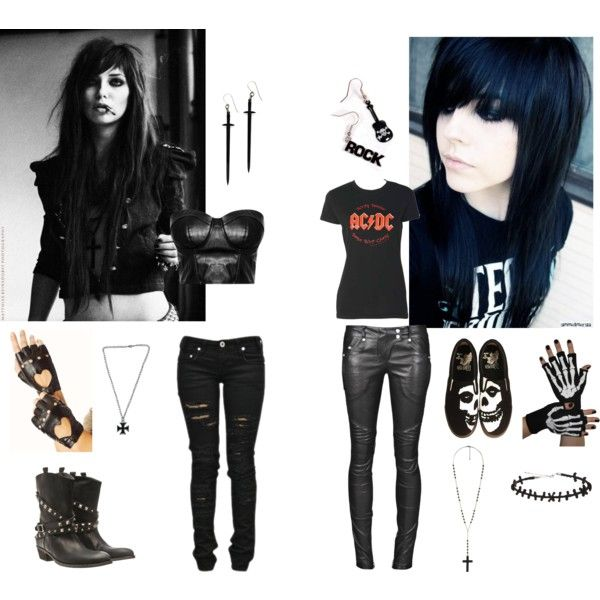 """""""My two sides"""" by darkangeltoki13 on Polyvore: I want the leather top"""