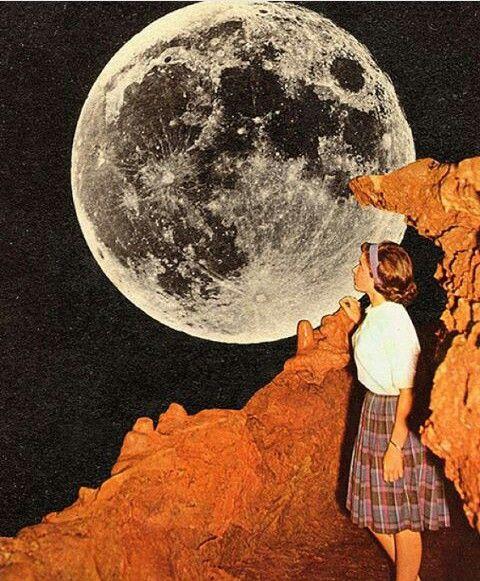 Y hasta la luna entiendo lo que siento al tenerte junto a mi