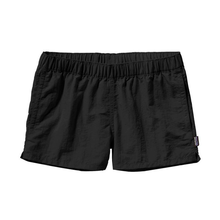 W'S BARELY BAGGIES SHORTS, Black (BLK)