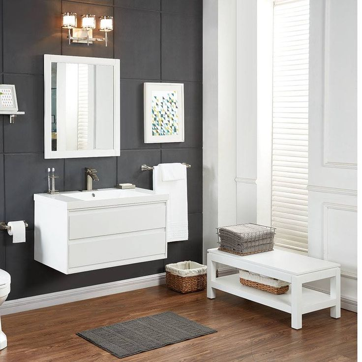 The Art Gallery Complete your bathroom remodel with our unique ScottLiving Cayce Vanity Detachable legs leave a
