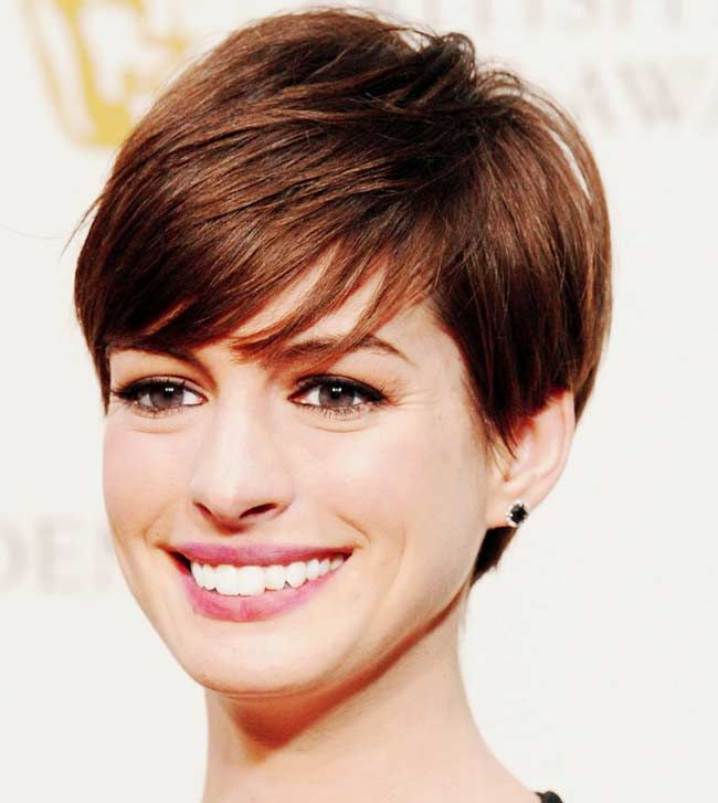 25+ Best Ideas About Anne Hathaway Pixie On Pinterest