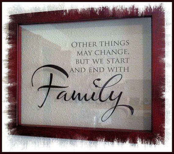 15 best Family saying images on Pinterest | Family sayings, Frame ...