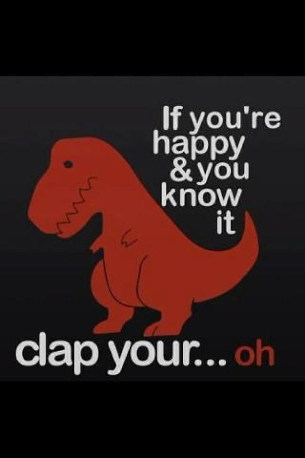 Anything that makes fun of a T-rex's short arms is always funny!                                                                                                                                                     More