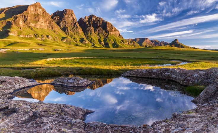The Sehlabathebe National Park is a small nature reserve situated in the south-eastern corner of Lesotho. By most people's standards, the park is isolated, but it is also one of the most sensational natural retreats in Southern Africa.