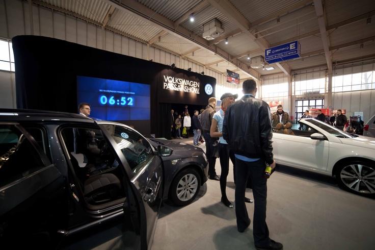 Stoisko targowe VW Passat