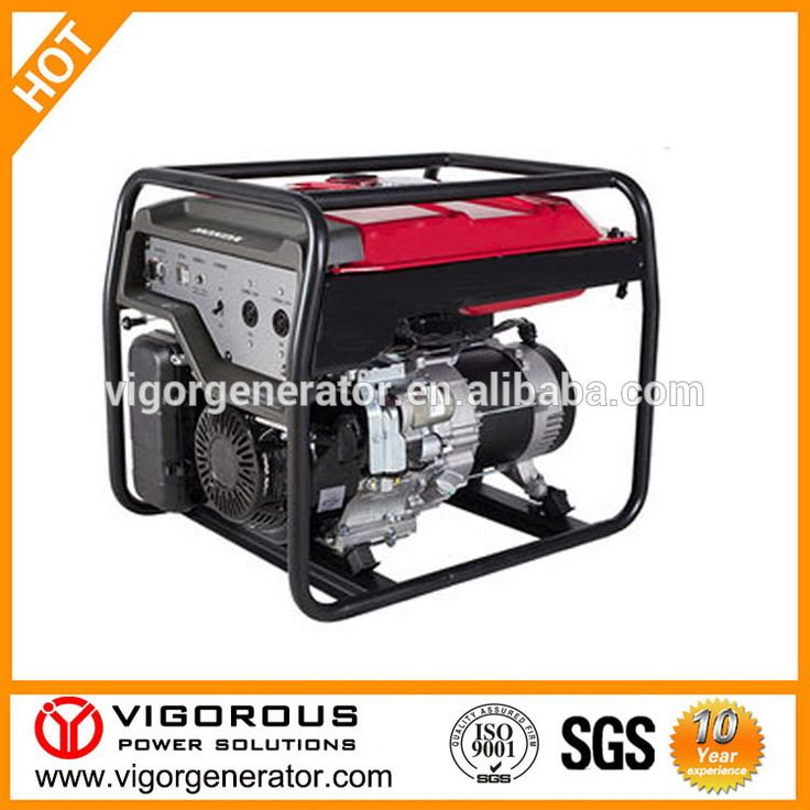 High Quality Emergency 6500 Watt Power Gasoline Generator With Automatic Transfer Switch and UPS For Bank