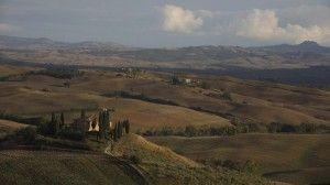 Пейзаж Волтерра Тоскана