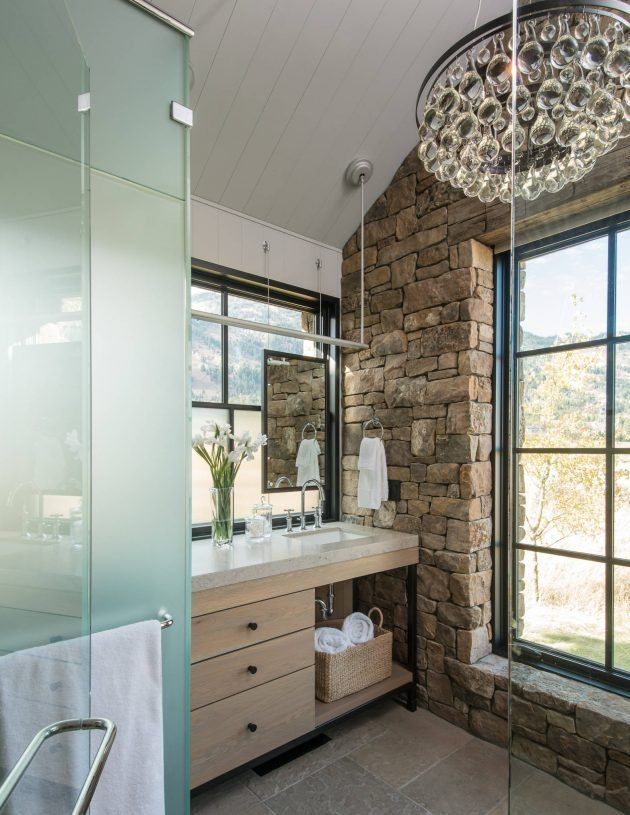 Glam Rustic Bathroom Rustichomedecorfarmhouse Rustic
