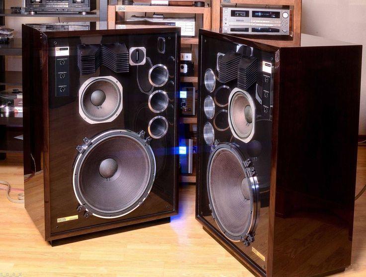 Jbl 4345 Limited Edition Studio Monitor Speakers Studio Monitors Vintage Speakers Hifi Audio