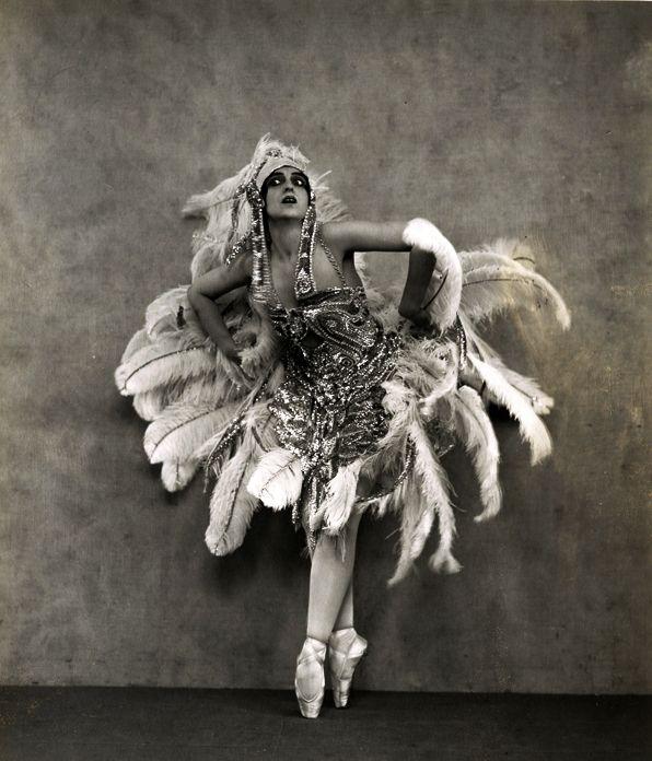 Ballet costume, 1920s.