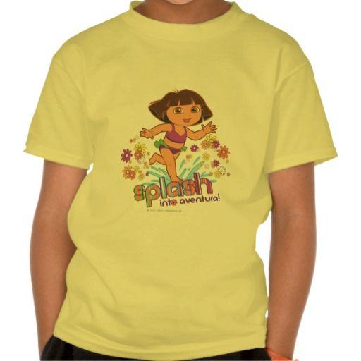 Dora The Explorer - Splash Into Aventura! Tshirt