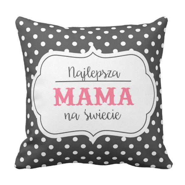 Poduszka Najlepsz MAMA na świecie Dzień Matki pod-6227 | Poduszki \ Dzień Matki Poduszki \ Dzień Matki | Tytuł sklepu zmienisz w dziale MODERACJA \ SEO