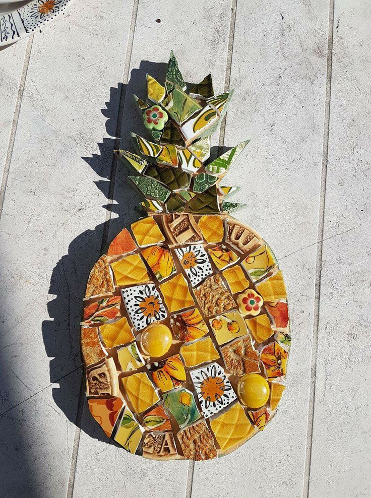 36 Best Pineapples Stained Glass Images On Pinterest