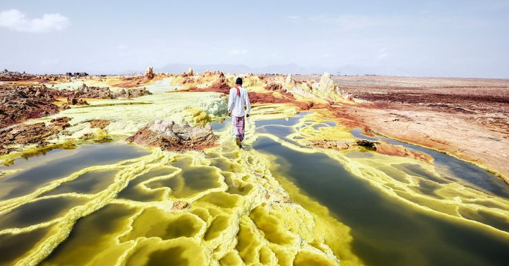 A virtual reality film that transports you to the hottest place on Earth, where camel caravans move salt across the vast plains, and active geothermal zones turn into a landscape of psychedelic colors.