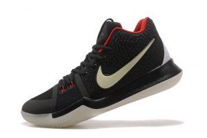 a030142373f8 Mens Nike Kyrie Irving 3 Black White Mandarin Duck Glow In The Dark  Basketball Shoes