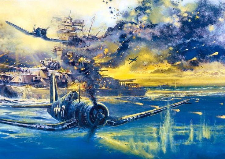 Chance Vought F4u Corsair Imperial Sacrifice By Robert