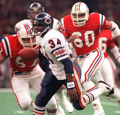 Super Bowl XX | January 26, 1986 – The Chicago Bears won their first Super Bowl, destroying the New England Patriots 46-10, then a Super Bowl record for margin of win. The Bears defense allowed the Pats to only 123 yards and an incredible negative yardage (-19) in the first half. Bears defensive end Richard Dent won the MVP with 1.5 sacks and two forced fumbles.
