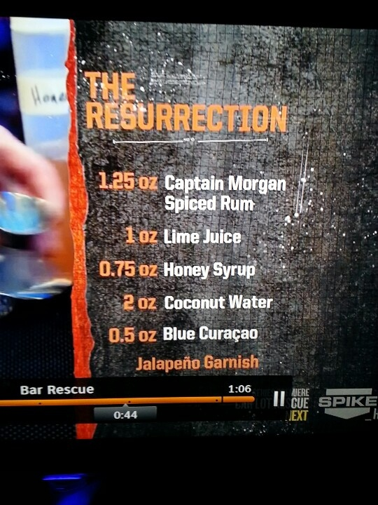 Bar Rescue Mixed Drinks