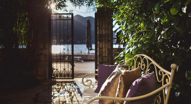Palazzo Radomiri is a baroque palace that's been turned into a luxury 4 star hotel near Kotor. #montenegro #kotor