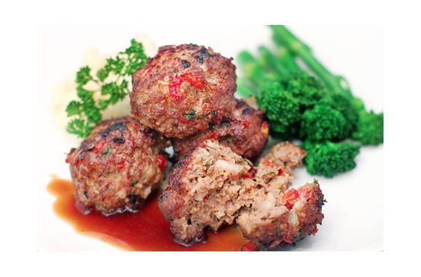 South African Meatballs - Frikkadels