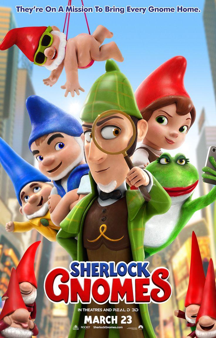 Sherlock Gnomes Gnomeu E Julieta O Misterio Do Jardim Gnomeu E