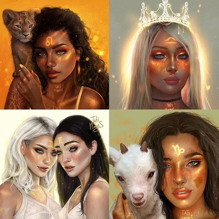 Фотографии знаков зодиака в виде людей