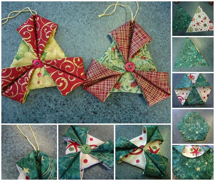 76 best Origami images on Pinterest  Fabric origami Fabric