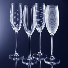 52 best images about unique champagne glasses on pinterest plastic champagne flutes engraved - Unusual champagne flutes ...