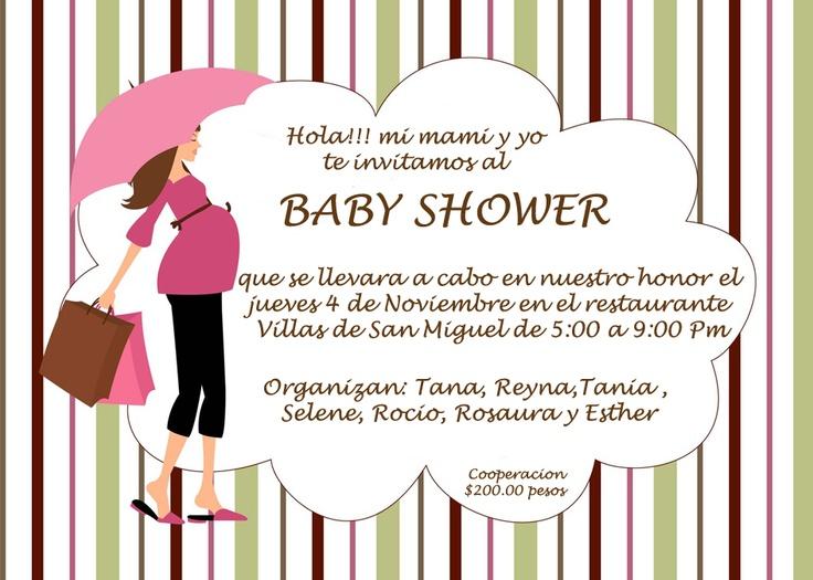 Invitacion Baby Shower Monica, by jenny