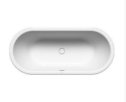 Wir bieten Ihnen hier eine Badewanne KALDEWEI CENTRO DUO OVAL an.  -einelementiges Gehäuse ermöglicht die Stellung der Badewanne als freistellend  - Bad für zwei Personen : zwei identische Stütze und ein Ablauf, der inmitten steht  - ausgefertigt aus 3,5 mm Emalionstahl KALDEWEI  -Außenlänge 1700 mm  -Außenbreite 750 mm  - Innere Länge 1130 mm  - Tiefe: 485 mm  -Füllung : 156 l