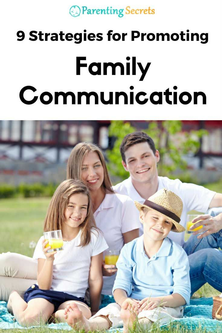 9 Strategies for Promoting Family Communication
