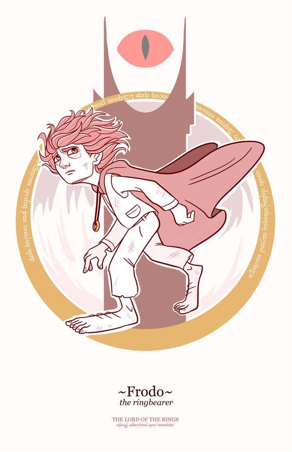 Ilustrações dos personagens de O Senhor dos Anéis                                                                                                                                                                                 Mais