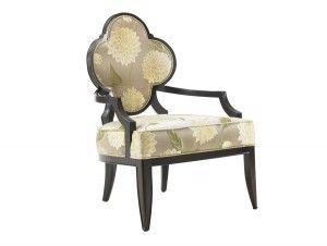 Lexington Home Brands St. Tropez Alhambra Chair Item: Dimensions: X X In.  Inside Width: In. Inside Depth: In. Arm Height: In. Seat Height: 17 In.