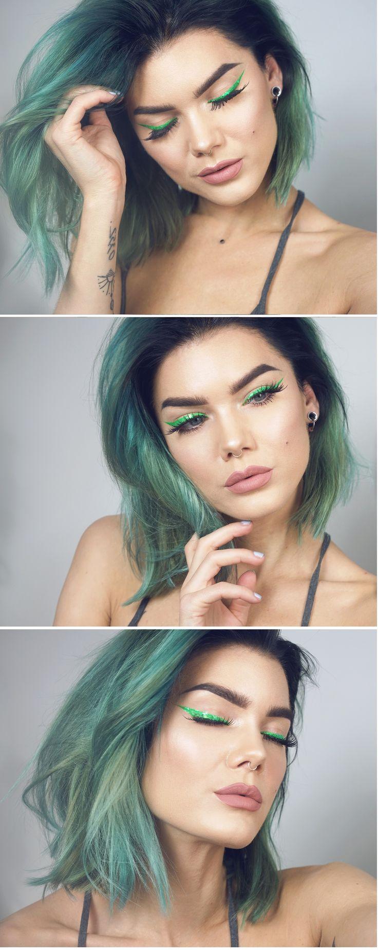 TODAYS LOOK | UV GREEN