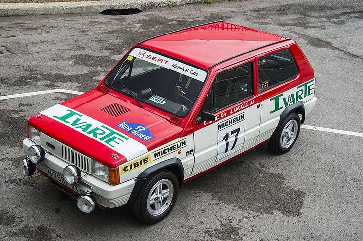 Der Seat Panda 45 Gruppe 2 wurde 1982 von Carlos Sainz gefahren Der Seat Panda 45 Gruppe 2 hatte 62 PS Das Cockpit war nur mit dem Nötigsten...