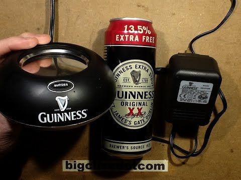 Inside a Guinness surger unit.