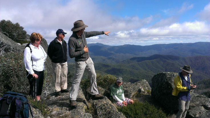 Views across the Alpine National Park in Victoria