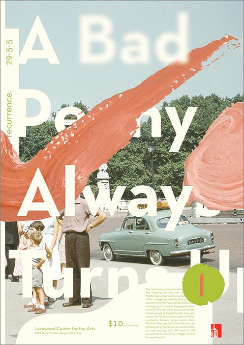 A Bad Penny Poster Design